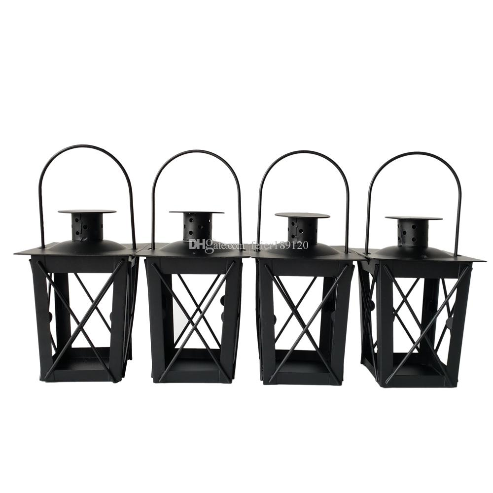 Cheap Black Color Classic Style Tea Light Holder Metal Candle Holder ...