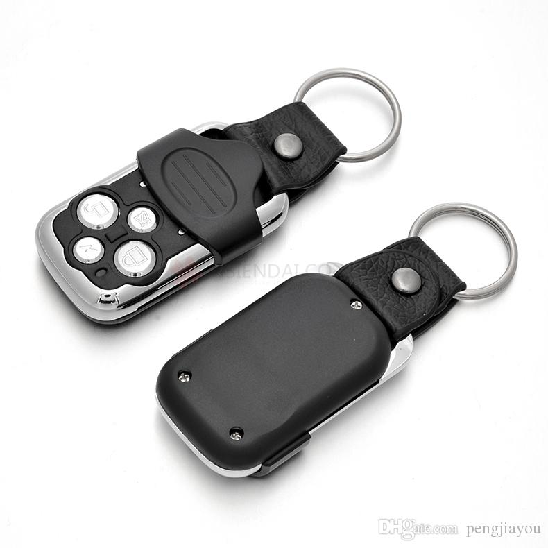Wholesale!!! 433MHz Wireless Auto Remote Control Duplicator Frequency 433Mhz Car Remote Gate Copy Remote Controller with Battery Keychain