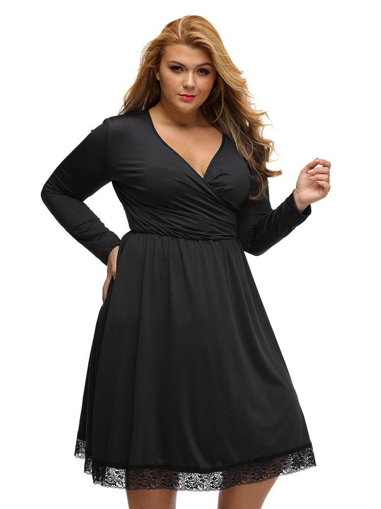 Dress for chubby woman
