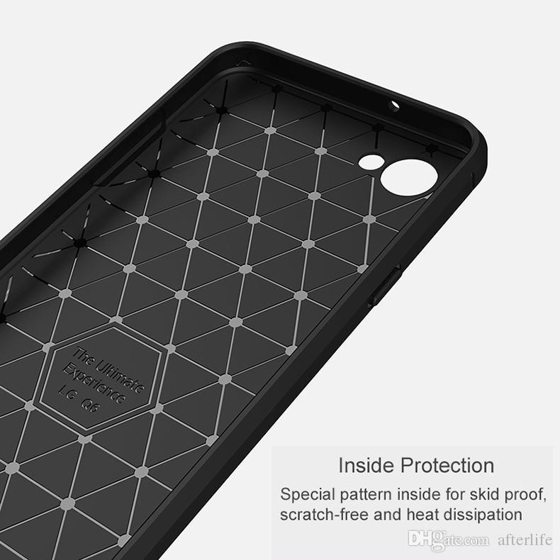 Etui en silicone souple pour LG Q6 Coque de protection arrière pour téléphone LG Q6 Q6a Q 6 un M700 LGQ6 Coque Nouveau