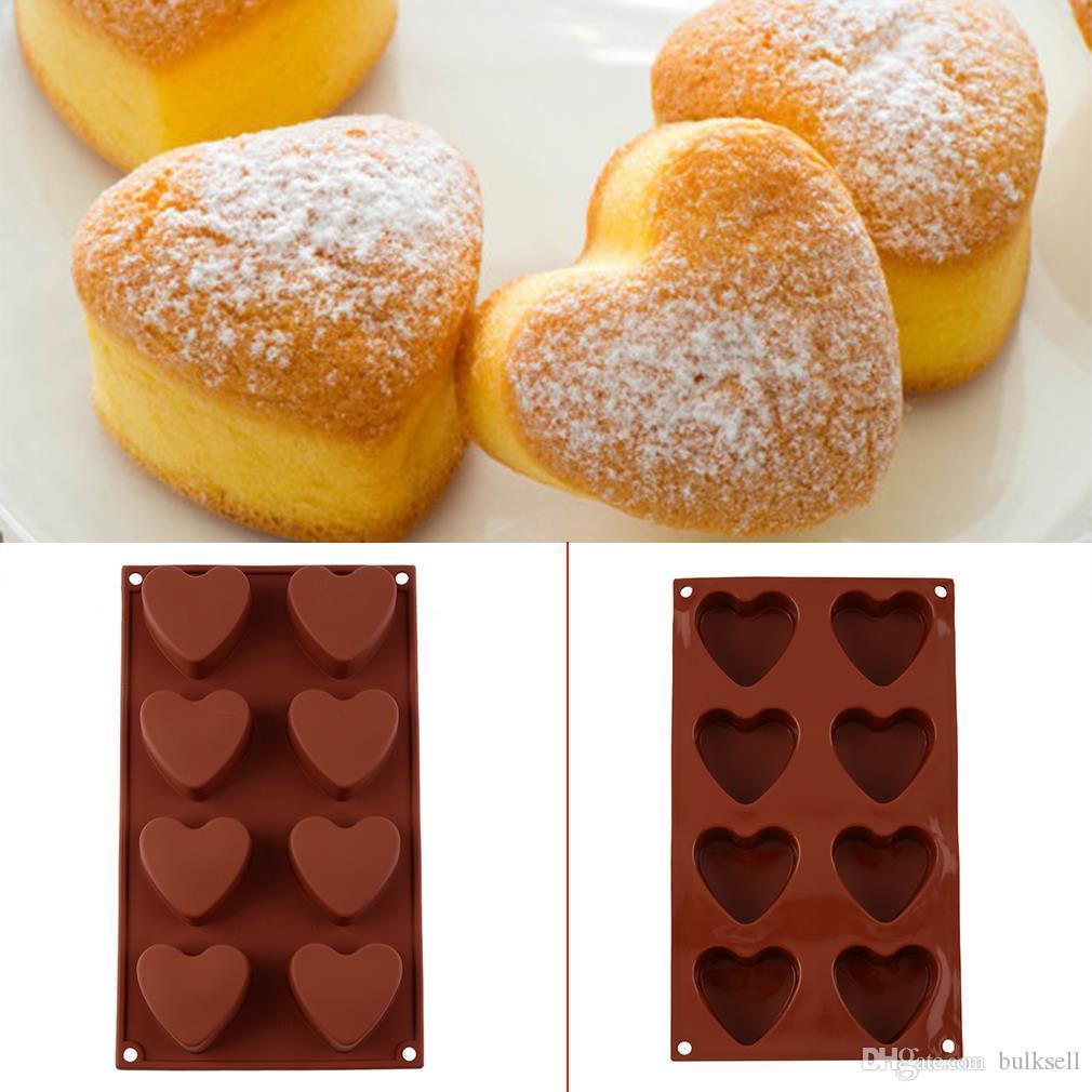 Grosshandel Silikon Eiswurfel Schokolade Kuchen Cookie Schokolade