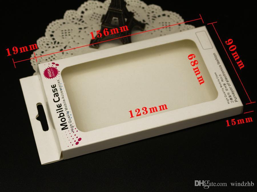 حزمة الهاتف الخليوي العالمي التجزئة حزمة مربع التعبئة والتغليف لآيفون 6 5 5S 5C 4 غالاكسي S 5 4 i9500 S3 i9300 ملاحظة 3 2 حالة تغطية ورقة حزمة