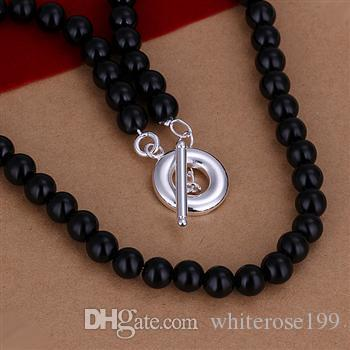 Wholesale - Retail lowest price Christmas gift 925 silver fashion Jewelry Necklace N70