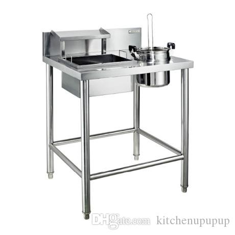 Restaurant Kitchen Sink 2017 kindelt commercial flour work table made of 304 stainless