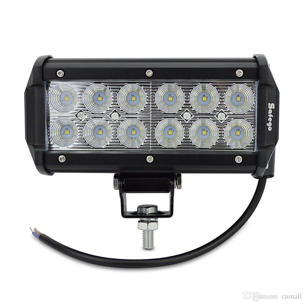 7 inch 36w cree car led work light led bar light 2800lm car 7 inch 36w cree car led work light led bar light 2800lm car tractor boat off road lamp 4wd 4x4 12v 24v truck suv atv spot flood working lamp 7 inch 36w cree mozeypictures Image collections