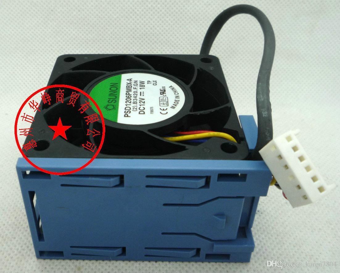 NMB 6038 2415KL-04W-B86 12V 1.65A pour ventilateur de serveur Dell PowerEdge 2850, PSD1206PMBX-A AVC 2B06038B12G 60 * 60 * 38mm
