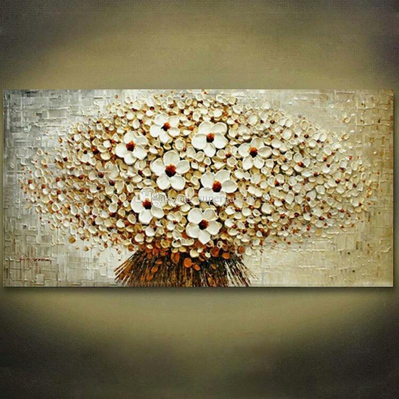 2019 Framed Flower Tree Pure Handicrafts Modern Abstract Art Oil
