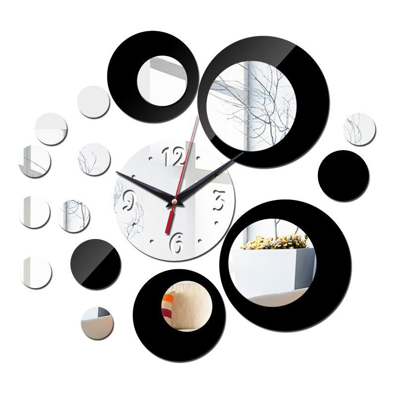 e792cf81b2fb7 Wholesale-2016 New Acrylic Large Wall Clock Quartz Watch Diy Clocks ...