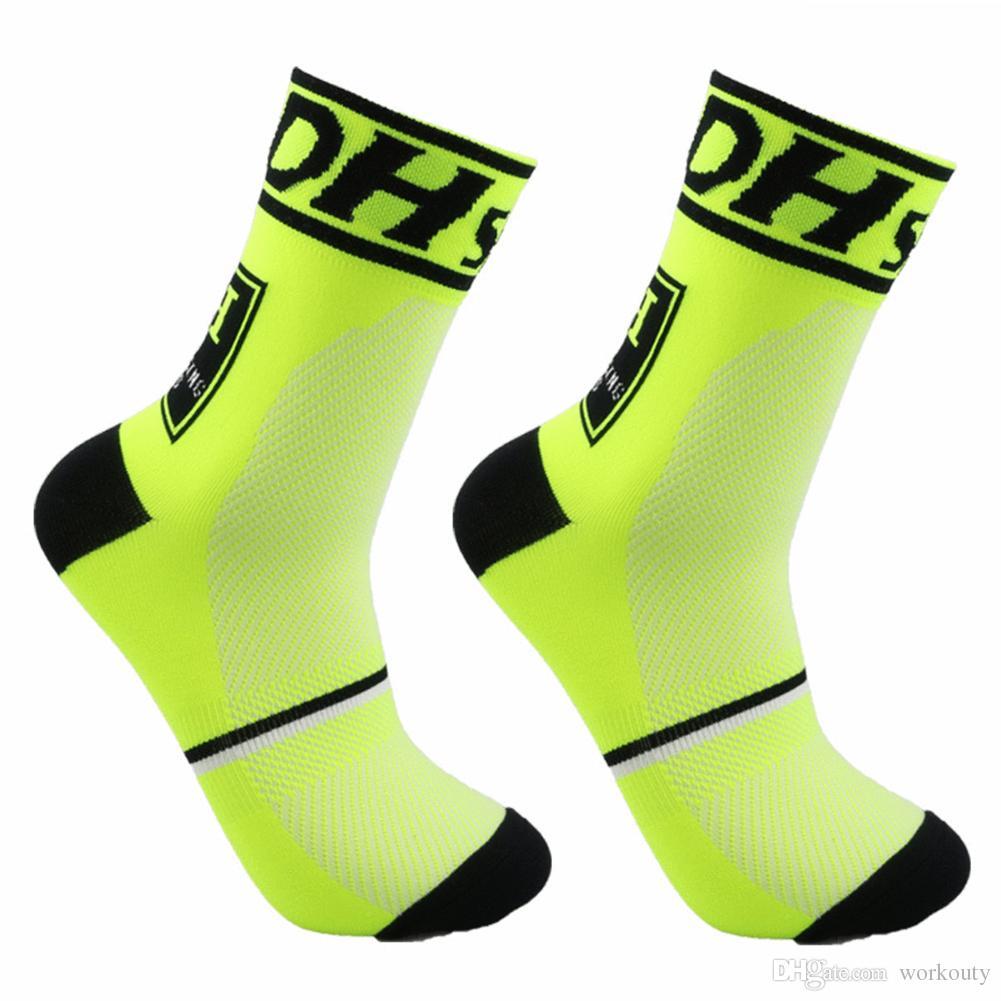 Neue Ankunft 6 Paar Kompression Training Sport Socken Outdoor Radfahren Fußball Basketball Volleyball Laufen Fußball Socken für Männer Frauen