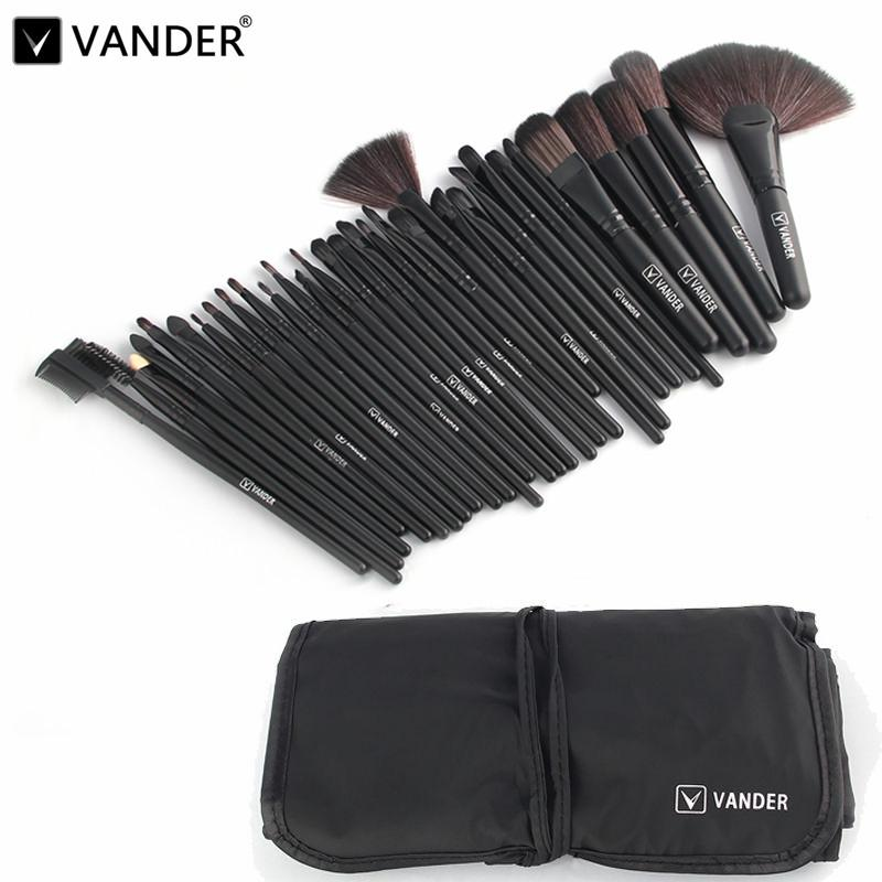 Wholesale Professional Makeup Brush Set Makeup Brushes Eyebrow Eyeliner Powder Tools Toiletry Kits Pinceaux Maquillage Black Eyebrow Brush Makeup Cases From ...