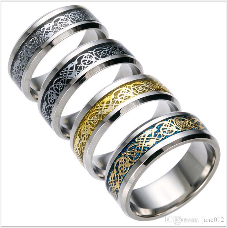 Men Finger Gold Ring Design line