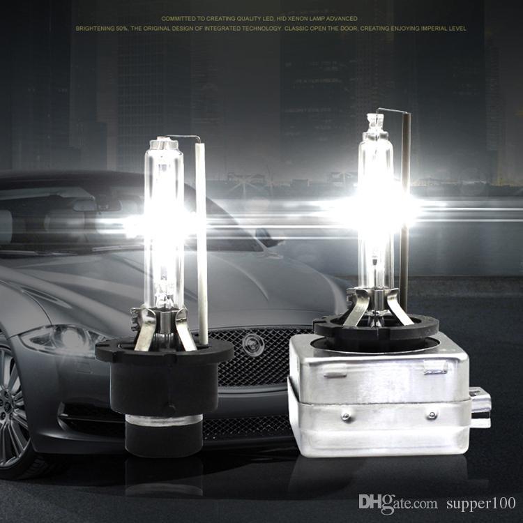 الشحن مجانا مصنع تعزيز 2 قطع المصابيح زينون D1S السوبر مشرق عالية الطاقة 35 واط d1s hid ضوء لمبة عالية الطاقة 12 فولت 35 واط d1s اختبأ زينون