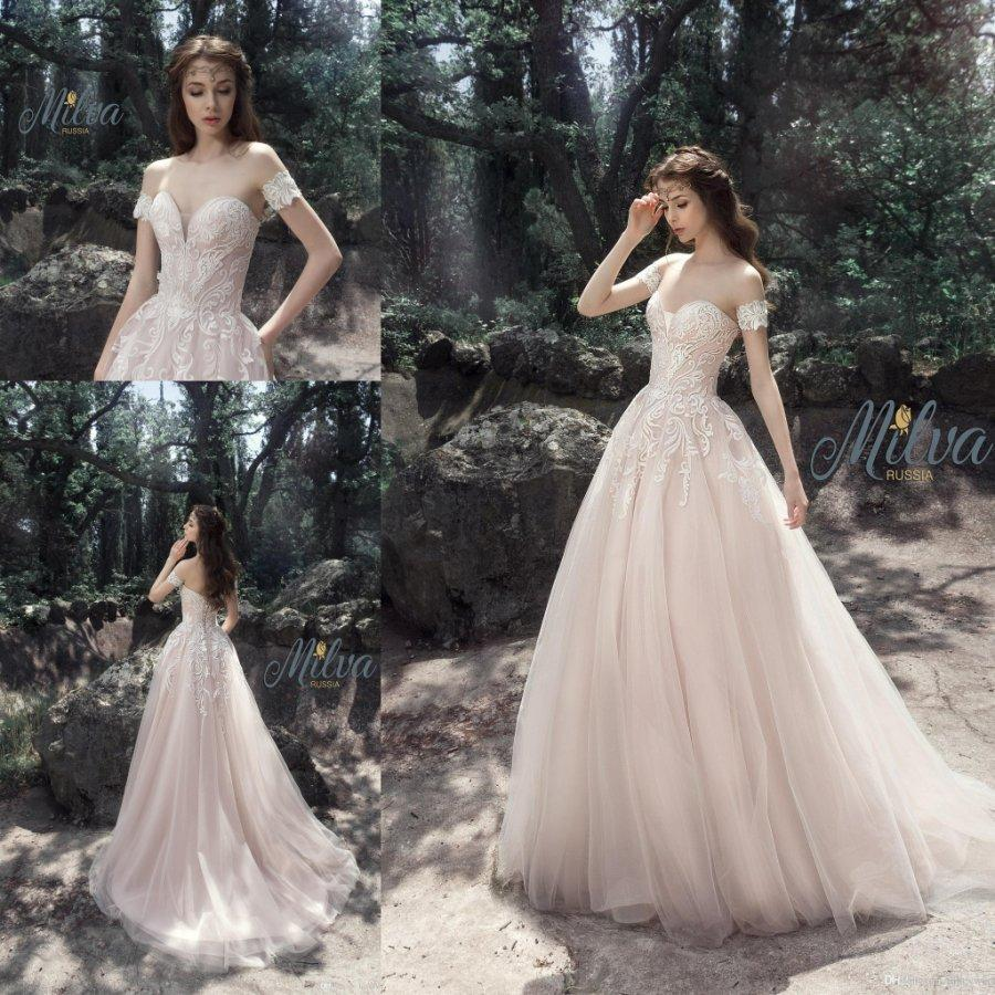 Discount Vintage Wedding Dresses 2017 Fall Sweetheart Lace Tulle Puffy Gowns A Line Corset Gardern Country Western On Sale