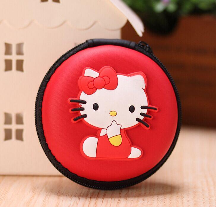 Wholesale- Super Kawaii 2Colors- Hello Kitty Choice - 8CM Wire Holder BOX Storage & Key BOX Case ; Coin Purse Wallet Pouch