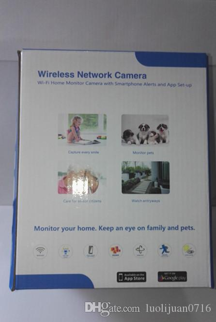 Горячая продажа IP-камера 1.0 MP 720P PanTilt P2P Wifi беспроводная камера безопасности с ночного видения IP-камеры