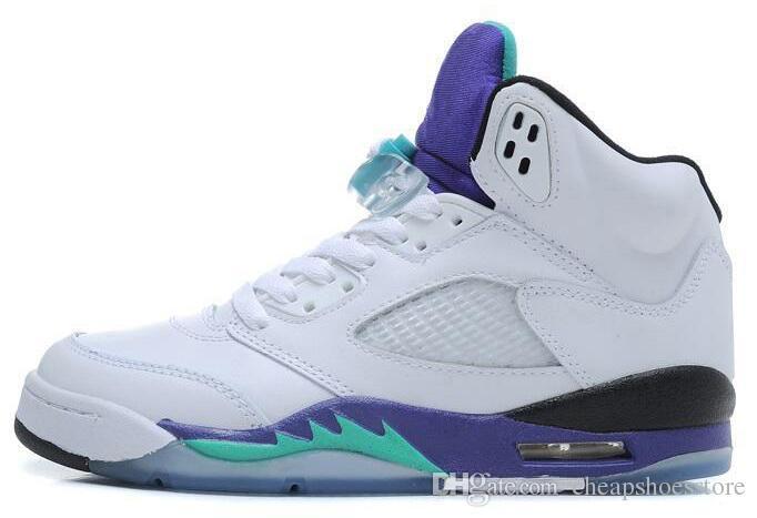 Scarpe Air 5 di CINA all'ingrosso uomini della CINA bassa degli uomini delle donne di pallacanestro delle scarpe 5 di sport delle scarpe da tennis delle scarpe 5-12 di trasporto libero Scarpe di sport