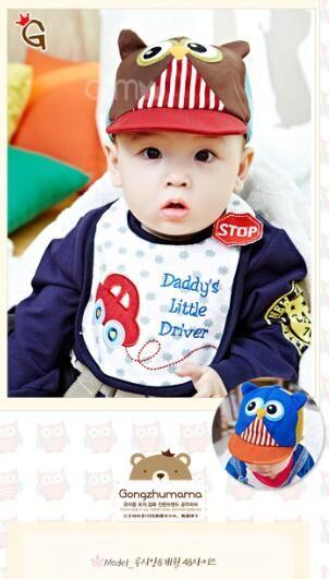 Crianças Caps Crianças Cap Boy Girl Kids Hat Bebê Recém-nascido Chapéus Toddler Caps