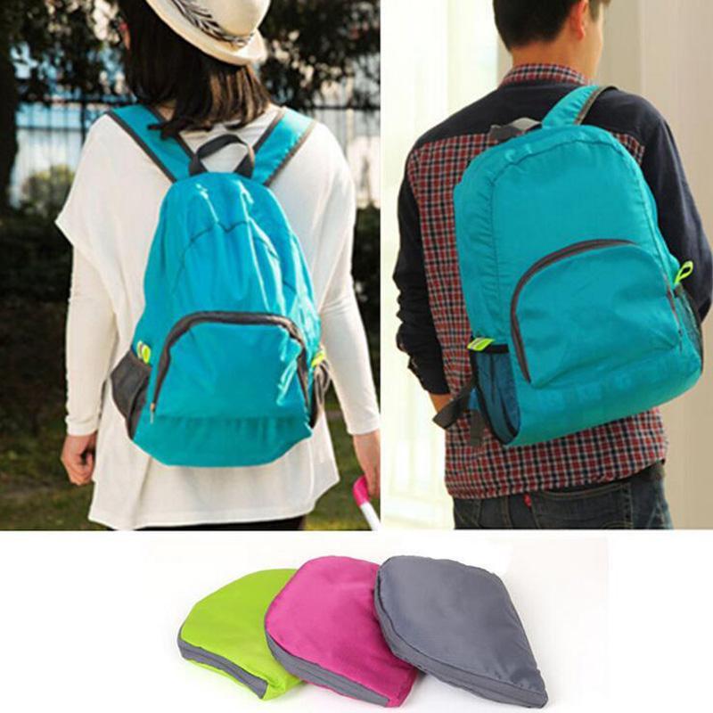 Accueil Sacs de rangement Sacs de voyage portables pour voyage en plein air se pliant sac à dos léger et imperméable sac de sport sac à bandoulière Sac à dos de rangement
