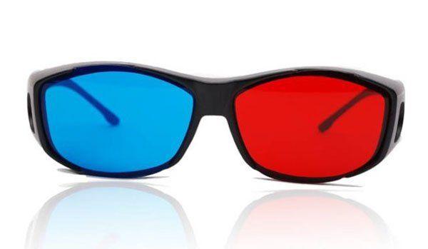 / rosso blu ciano miopia generale 3D occhiali film in vetro 3d gioco film dvd 3d dimensionale spedizione gratuita 0001