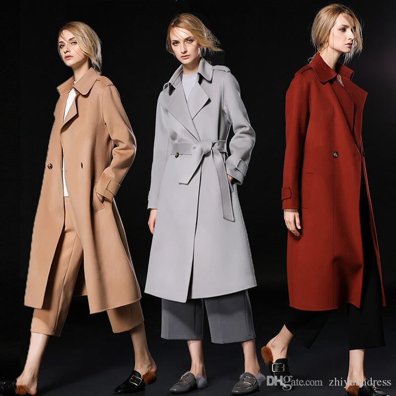 Ladies camel coats 2018