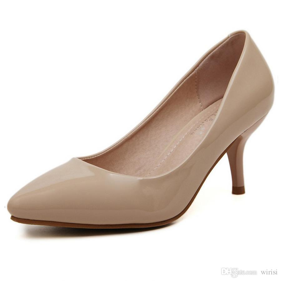 New Fashion Ladies Pumps Cheap Heels Online Shoes Purchase Discount Women's Shoes Popular Girls Footwear Online Shopping Outlet Shoes Online