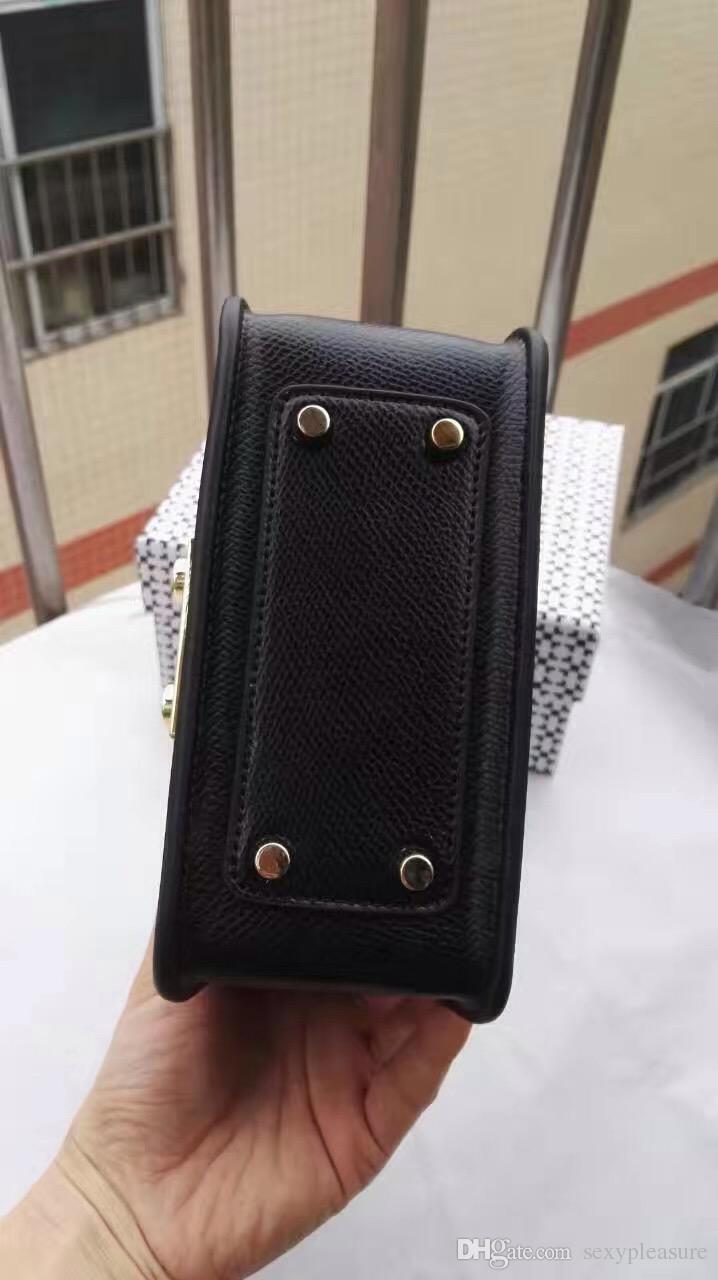 2017 Hot Sale Women bag Mini Metropolis Bag Ladies Leather Women Messenger Bags Handbags Women Famous Brands Small Crossbody Bags