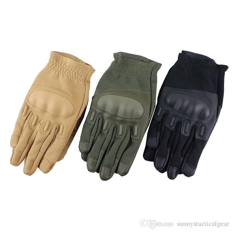 Outdoor Sports Motocycle Cycling Gloves Paintball Airsoft Shooting Hunting Tactical Full Finger Gloves NO08-058