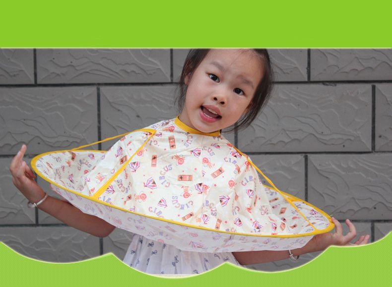 2018 Baby Children Kids Useful Haircut Cape Wash Hair Cape Gown