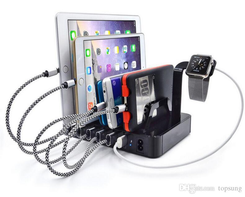 Family Charging Station best multi position cell phone charger 6 port usb charger station