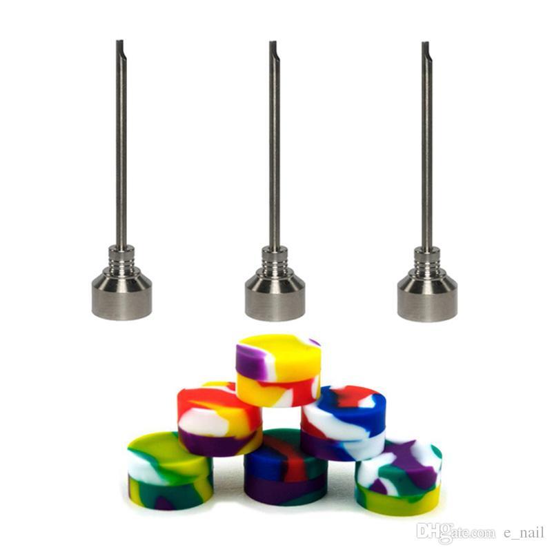 Le clou électronique de clou de Digital de kit de clou de Portable E contiennent 6 en 1 titane / clous hybrides de quartz pour des plates-formes de dab DHL librement