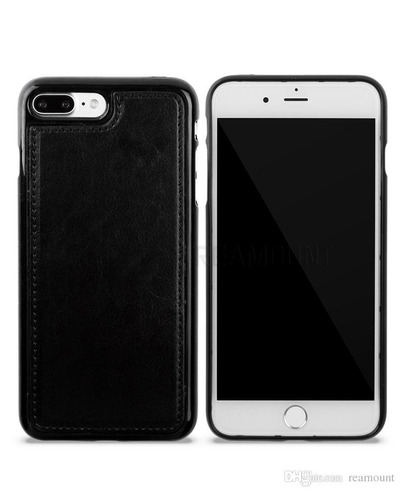 30 шт. Оптовая Новая Мода PU Кожаный Чехол для Телефона для Samsung S8 S8 Plus Crazy Horse Pattern Флип Бумажник Кожаный Чехол
