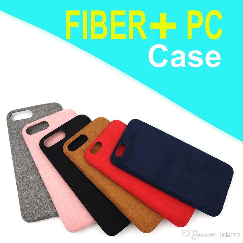 low priced 19a72 30b12 For iPhone 6s iPhone 7 Fiber Soft Phone Case factory outlet with opp package