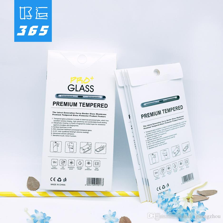 Wholesale New Product Package For Cell Phone Tempered Glass Screen Packing Box Retail Protective Paper packaging Boxes
