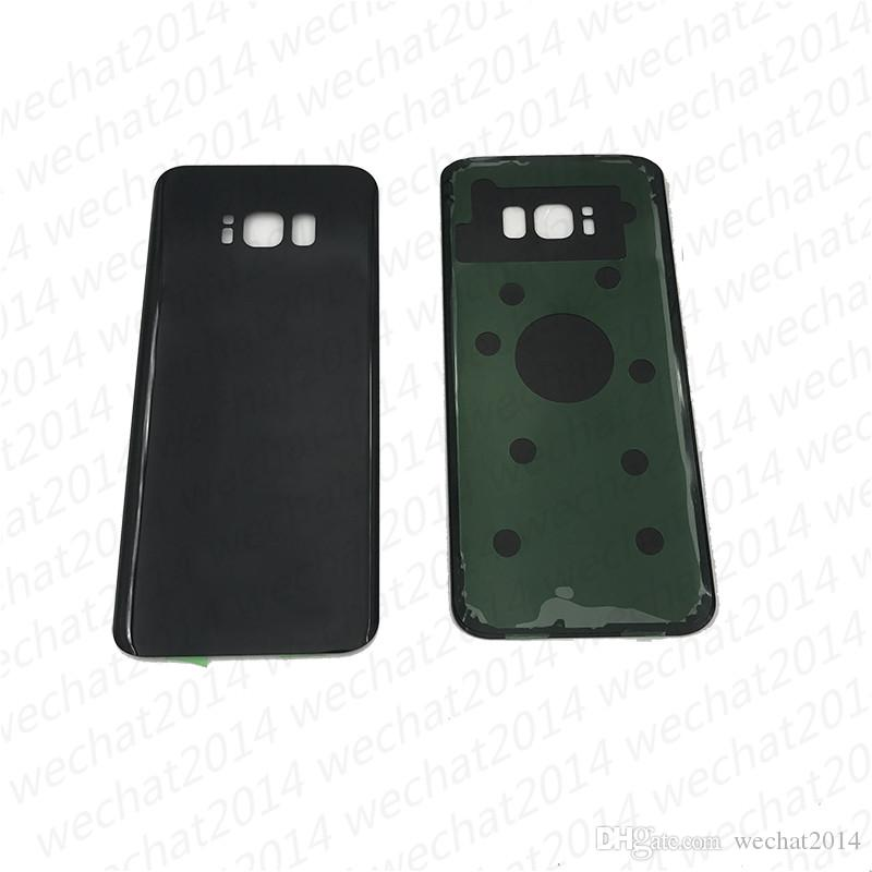 oem bateria porta traseira tampa do vidro da caixa para samsung galaxy s8 g9509 g950p s8 mais g955p com adesivo adesivo