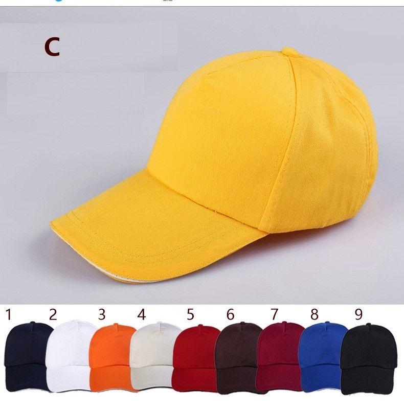 Hat diy embroidery baseball hat customized advertising cap custom duck tongue volunteers cap wholesale printing logo