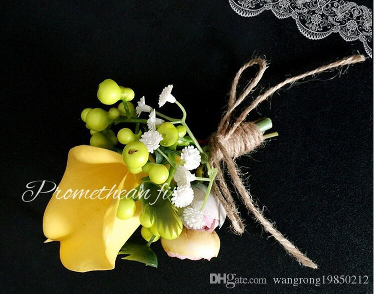 The wedding ceremony the bride and groom callas corsages or bridesmaid groomsman callas corsages creative wedding boutonniere