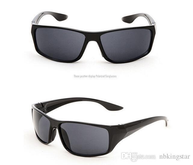 Unisex HD Moda Amarillo Lentes Gafas de Sol Visión Nocturna Gafas de Conducción del Coche Gafas Gafas Protección UV 10 unids / lote Envío Gratis