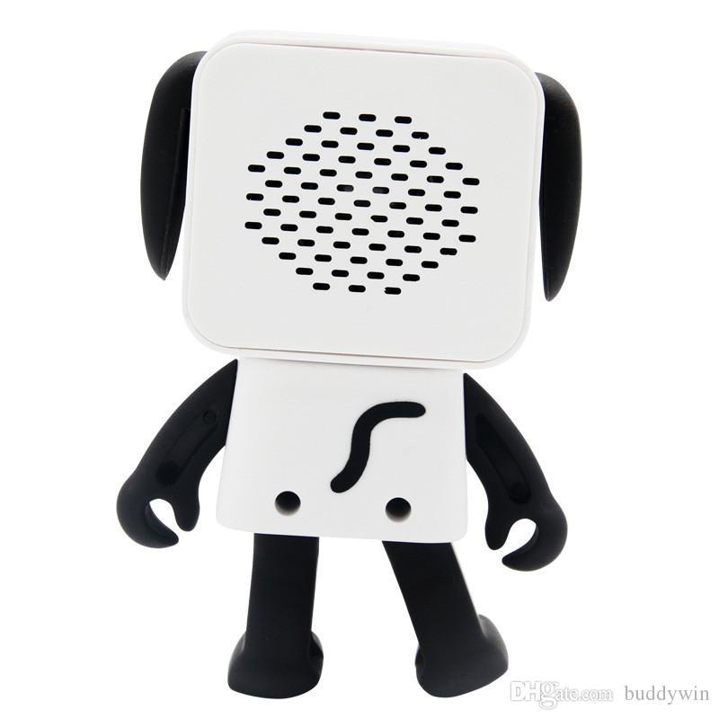 2020 Tragbarer Tanzen Hundespielzeug Bluetooth Lautsprecher Wireless Stereo-Musik-Spieler-Lautsprecher für iphone Samsung mit Kleinkasten bestes Spielzeug-Geschenk