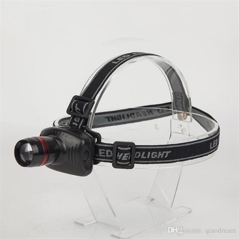 Mini LED headlamp Flashlight Outdoor Adjustable Highlight Zoom Multi Mode Fishing Camping Walking Lighting Lamps and lanterns