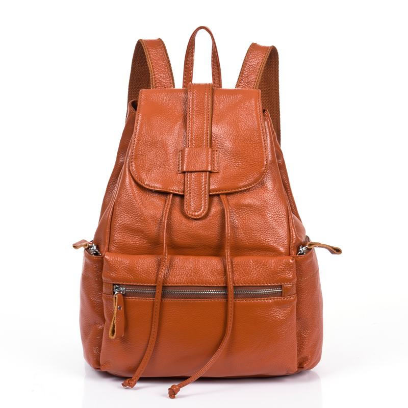 Wholesale vintage genuine leather backpack women bag high quality jpg  800x800 Leather backpack design 0e6836472a282