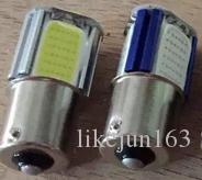 Özel araba led ışıkları 1156/1157 cob led araba yan kuyruk yedekleme ışığı dönüş park freni lambası