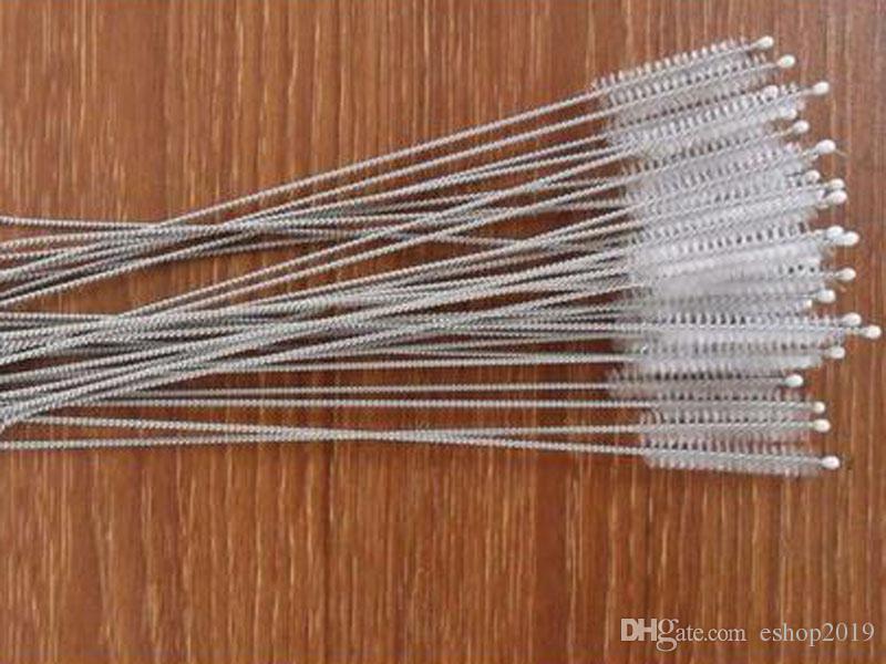 2017 Straw Brushes Bottle Cup Catheter Tube Spiral Soft Hair Brush Feeding Nursing Bottle Cleaner Tidy Toolspping
