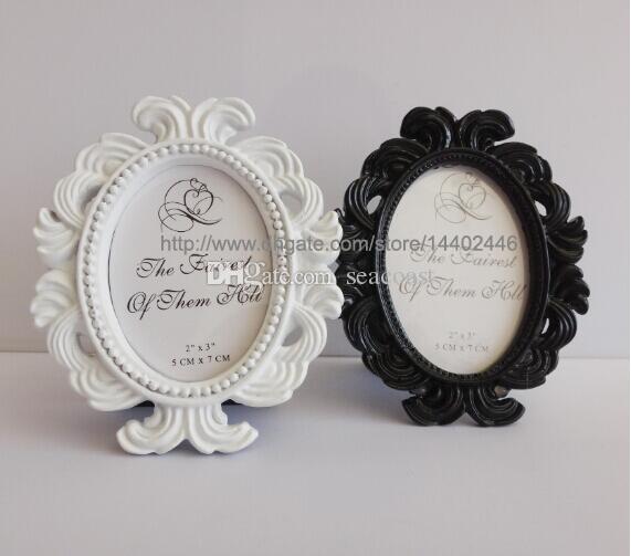 Legant Elliptical Baroque European Resin Place Card Holder Wedding ...