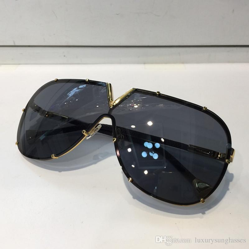 0926 الرجال النساء مصمم النظارات الأزياء البيضاوي نظارات uv حماية عدسة طلاء مرآة عدسة فرملس اللون مطلي الإطار تأتي مع صندوق