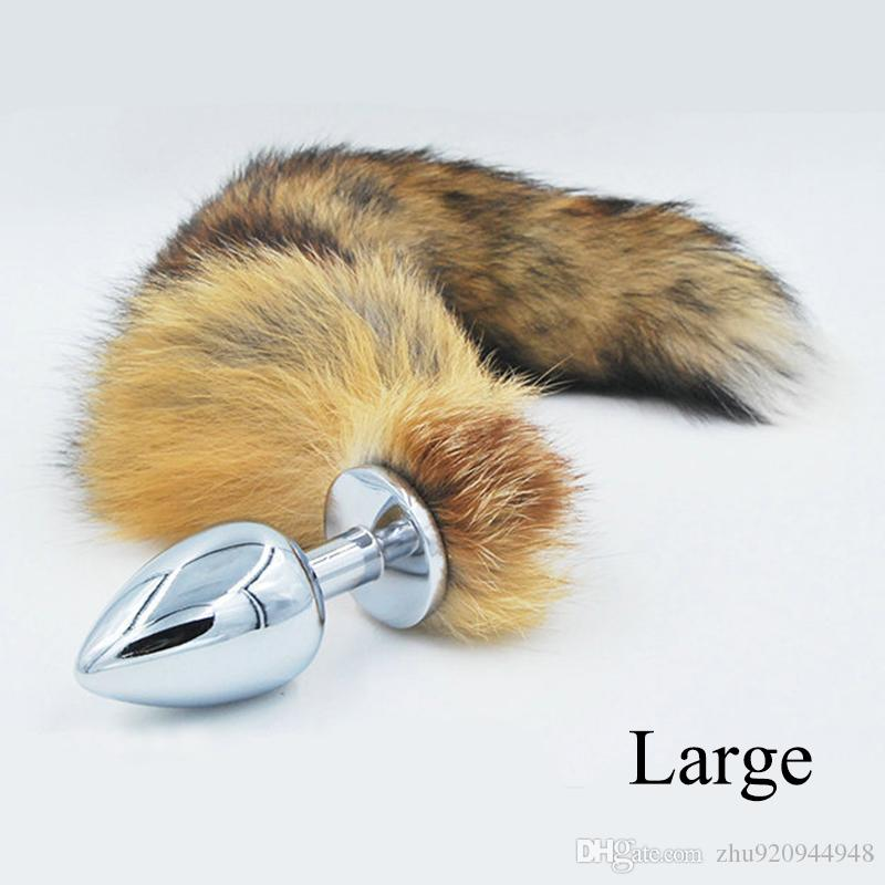 4191b9a93bf Metal Anal Toys Fox Tail Anal Plug Erotic Toys Sex Toys For Woman And Men  Sexy Butt Plug Adult Sex Toy Sexy Shop Online Sexy Toys From Zhu920944948
