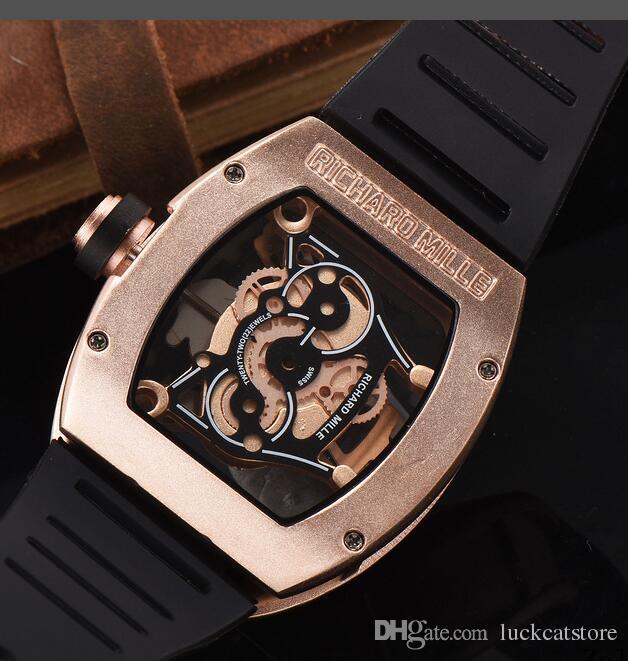 2017 New Luxury brand Skull sport Watches men Casual Fashion Skeleton quartz watch big bang WATCH