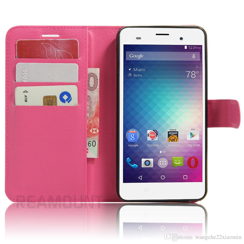 Colorful Wallet Case for BLU Dash M2 for BLU Advance 5.0 with Card Slot Holder Stand for BLU Dash M Back Cover