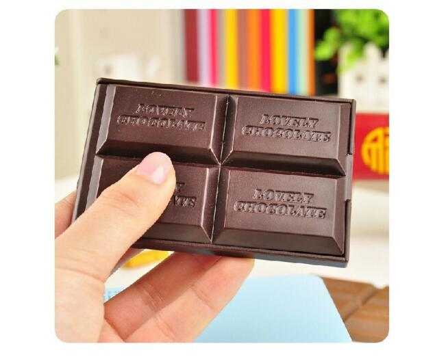 Mini cute Chocolate mirror makeup mirror Cosmetic Compact Mirror folding portable mirror pocket portable hand mirror with Comb Makeup Tools