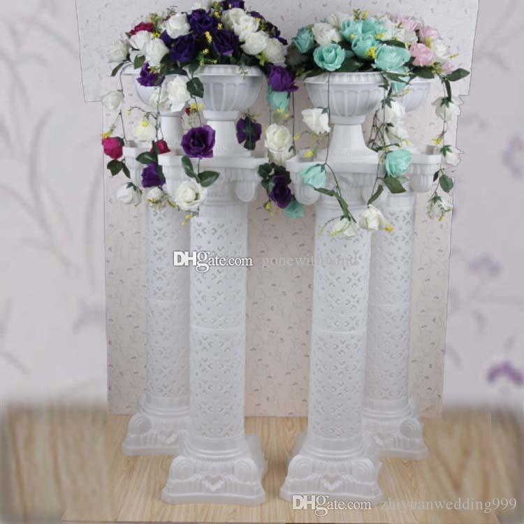 Wholesale High Quanlity Plastic Roman Columns For Wedding Road Lead