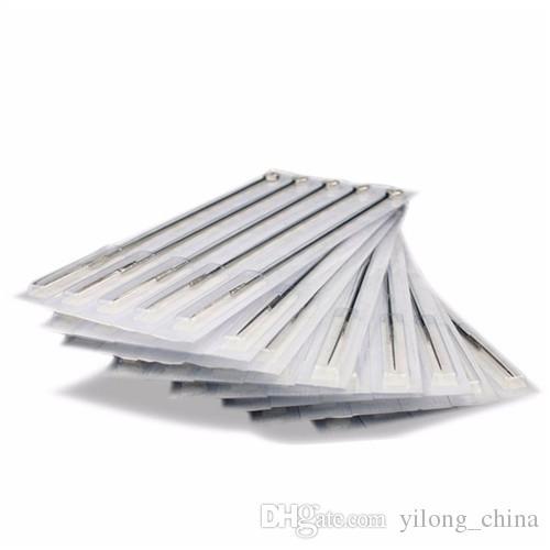 Heiße sterile Tätowierungs-Nadeln des Verkaufs-Tätowierungs-/ sterile für Tätowierung sortierten flachen Shader gemischte Größe für freies Verschiffen